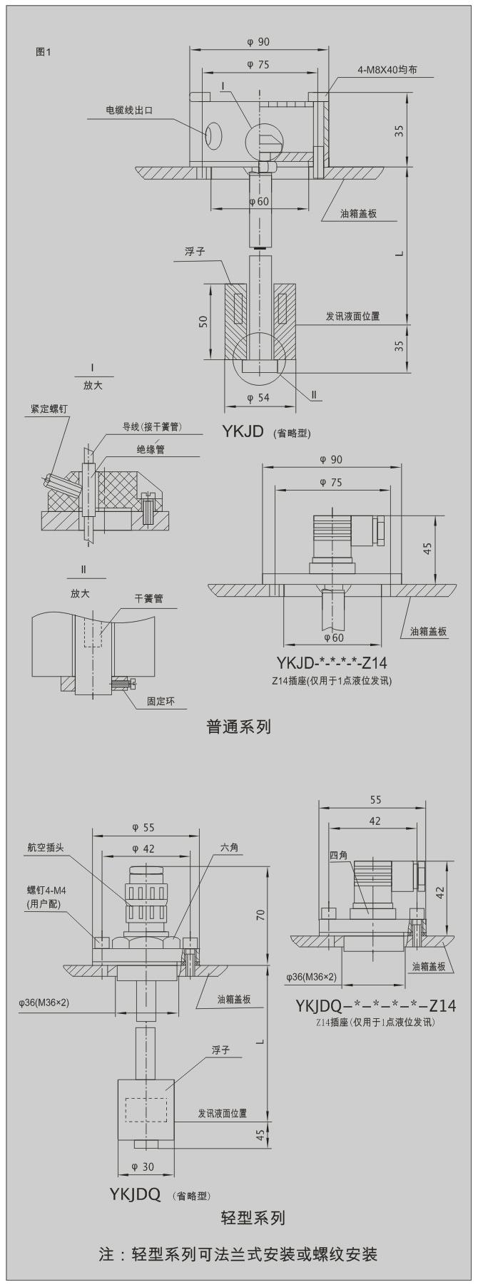 ykjd系列液位控制继电器